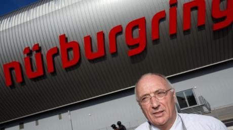Karl-Josef Schmidt ist der Geschäftsführer der Nürburgring GmbH.