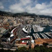 Blick auf die Formel-1-Strecke von Monaco. Foto: Xavier Bonilla/gtres