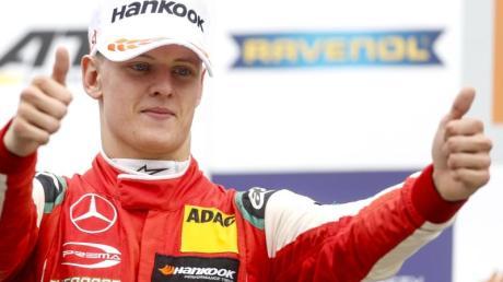 Baute in der Formel 3 seine Führung in der Gesamtwertung aus: Mick Schumacher.