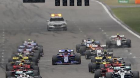 Das Rennen in China war das 1000. Rennen der Formel-1-Geschichte.