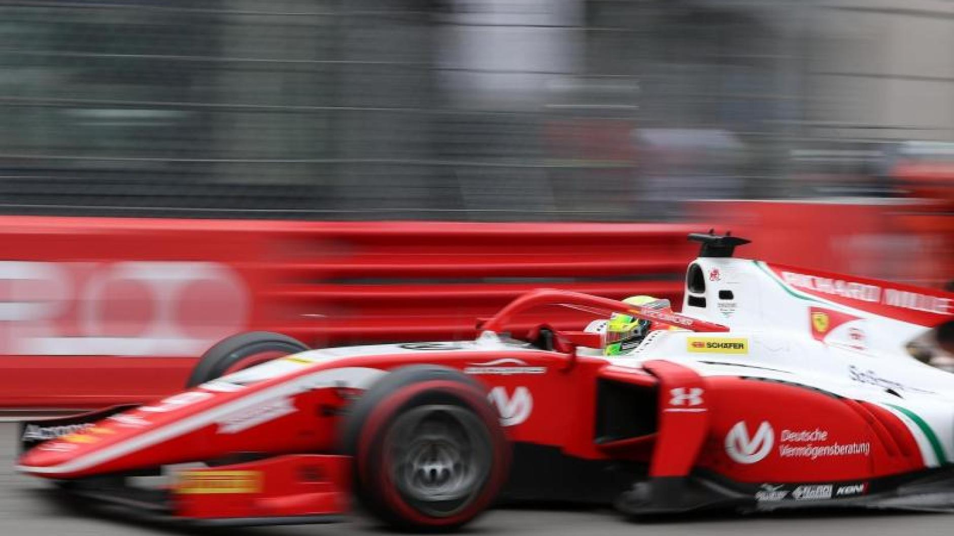 Formel 2: Mick Schumacher auf Platz elf im zweiten Monaco ...