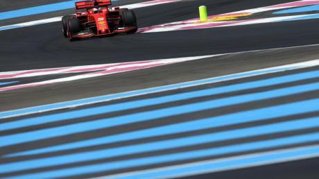 Bislang eine eher magere Bilanz bei Ferrari für Sebastian Vettel: 13 Siege in 88 Rennen.