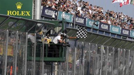 Die Formel 1 in Melbourne wurde abgesagt.