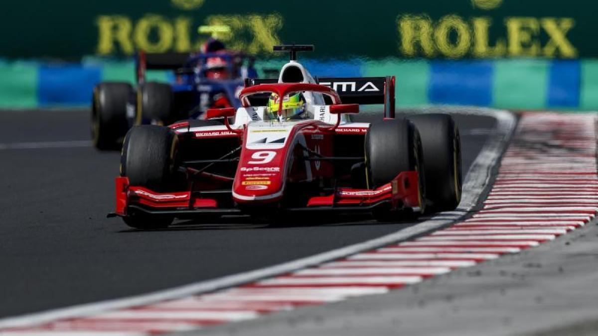Formel2 Unfall