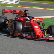 Startet in Spa vom zweiten Startplatz: Sebastian Vettel. Foto: Nicolas Lambert/BELGA