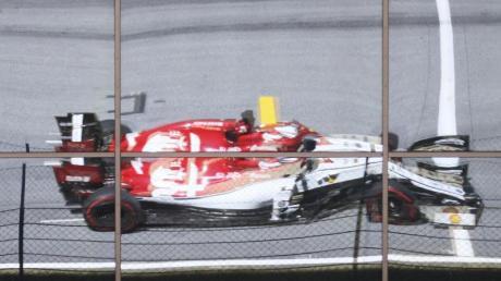 Die Zeitstrafen für Kimi Räikkönen und Antonio Giovinazzi bleiben bestehen.