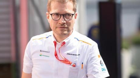 Teamchef beim McLaren-Rennstall: Andreas Seidl. Foto: Sebastian Gollnow/dpa