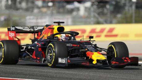 Steht vor seinem 100. Formel-1-Rennen: Max Verstappen. Foto: Eric Gay/AP/dpa