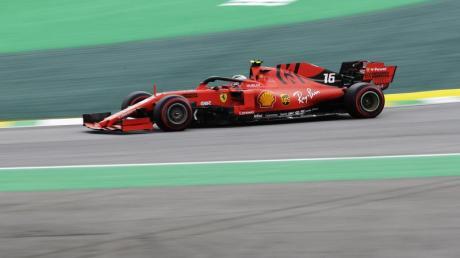 Im Visier der Rennkommissare: Ferrari-Pilot Charles Leclerc.