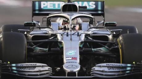 Lewis Hamilton schraubt beim Finale in Abu Dhabi seinen eigenen Punkterekord für eine Saison auf 413.