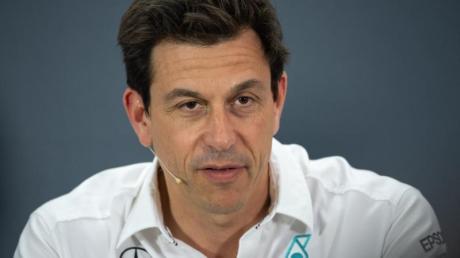 Wird als Nachfolger von Formel-1-Boss Carey gehandelt: Mercedes-Teamchef Toto Wolff.