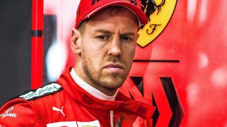 Sebastian Vettel hat derzeit kein Siegerauto.