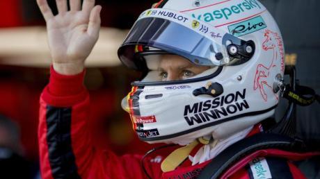 Motorenproblem bei Ferrari erkannt: Sebastian Vettel kann beruhigt die letzten Tests angehen.