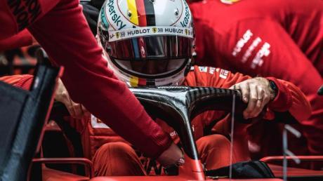 Trotz fünf gescheiterter Versuche glaubt Vettel weiter an den Erfolg seiner WM-Mission.