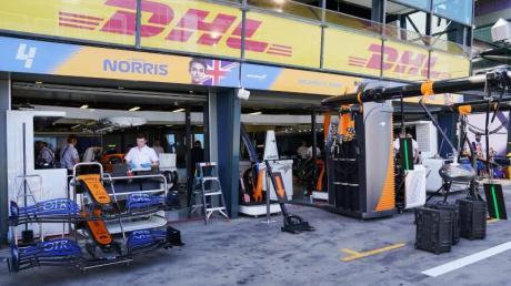 Das McLaren-Team musste sich in Australien in Quarantäne begeben.