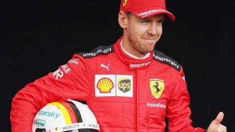 In Vertragsverhandlungen mit Ferrari: Sebastian Vettel.