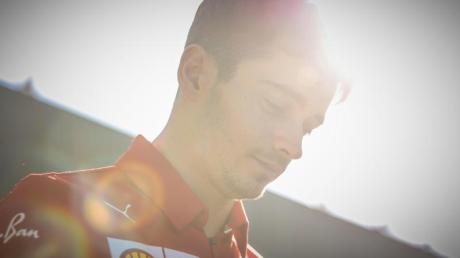 Debütiert beim F1 Esports Virtual Grand Prix: Charles Leclerc.