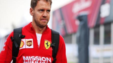 Gab sein Esports-Debüt: Ferrari-Pilot Sebastian Vettel.