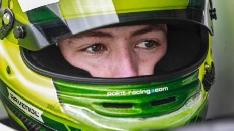 David Schumacher fährt in der Formel 3.