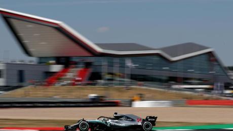 Im englischen Silverstone sind zwei Formel-1-Rennen ohne Zuschauer geplant.