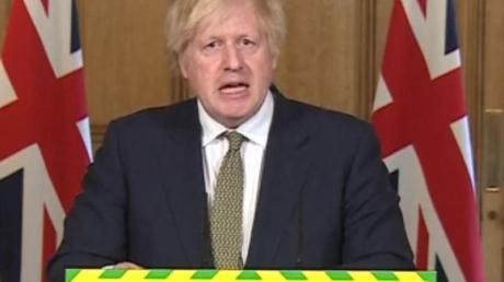 Macht sich für das Formel-1-Rennen in Silverstone ein:Boris Johnson.