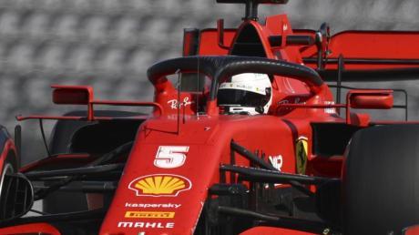 Sebastian Vettel erlebte im Ferrari in Österreich eine Frustfahrt.
