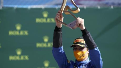 Überraschte in Spielberg mit Platz drei: McLaren-Pilot Lando Norris.