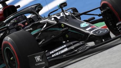 Raste in der Qualifikation in Spielberg auf Rang 1: Weltmeister Lewis Hamilton.