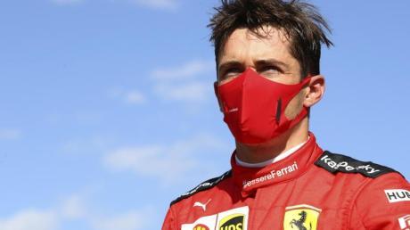 Ferrari-Pilot Charles Leclerc reiste für zwei Tage in seine Heimat noch Monaco.