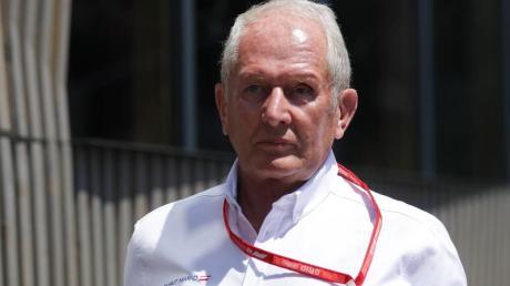 Helmut Marko, Motorsportchef von Red Bull.