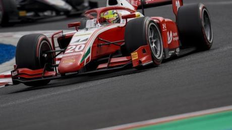 Blieb in Silverstone ohne Podestplatz: Mick Schumacher.