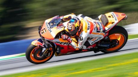 Stefan Bradl wird Weltmeister Marquez vertreten.