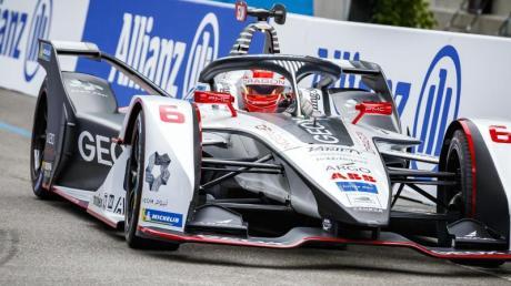 Maximilian Günther hat es beim Formel E-Rennen in Berlin in die erste Startreihe geschafft.