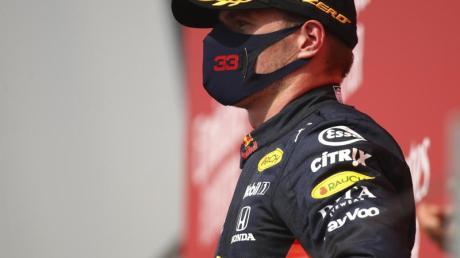 Max Verstappen möchte mit dem Red Bull weiter schneller werden.