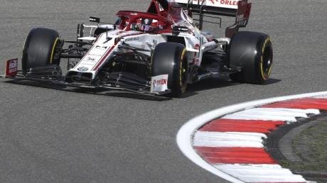Kimi Räikkönen stellte in der Eifel einen Rekord auf.