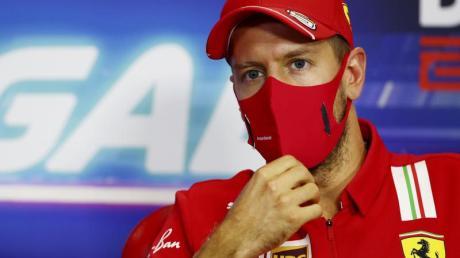Will mit der Scuderia Ferrari nochmal Gas geben: Sebastian Vettel.