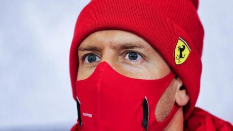 Die ständigen Niederlagen gegen Charles Leclerc setzen Sebastian Vettel zu.