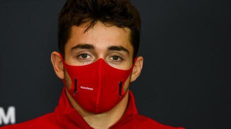 Würde sich über Mick Schumacher in der Formel 1 freuen: Ferrari-Pilot Charles Leclerc.
