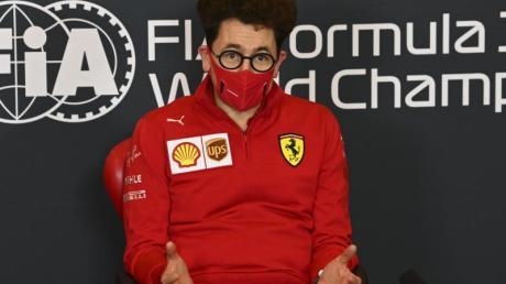 Fehlt Ferrari in Istanbul:Teamchef Mattia Binotto.