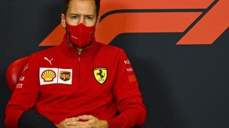 Ist mit seiner Bilanz bei Ferrari nicht zufrieden:Sebastian Vettel.