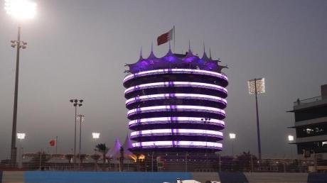 Mick Schumacher vom Haas F1 Team gibt beim Großen Preis von Bahrain sein Formel-1-Debüt.