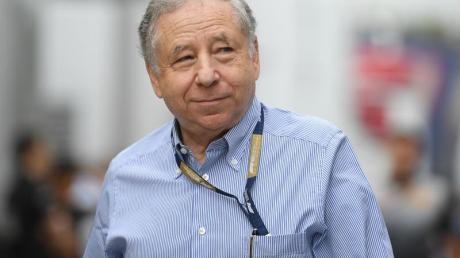 Jean Todt, Präsident des Welt-Automobilverbands FIA.