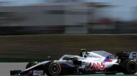Bleibt in seiner ersten Formel-1-Saison bescheiden:Mick Schumacher.