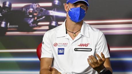 «Für mich war es nicht schwer, zu einer Party Nein zu sagen», sagt Mick Schumacher.