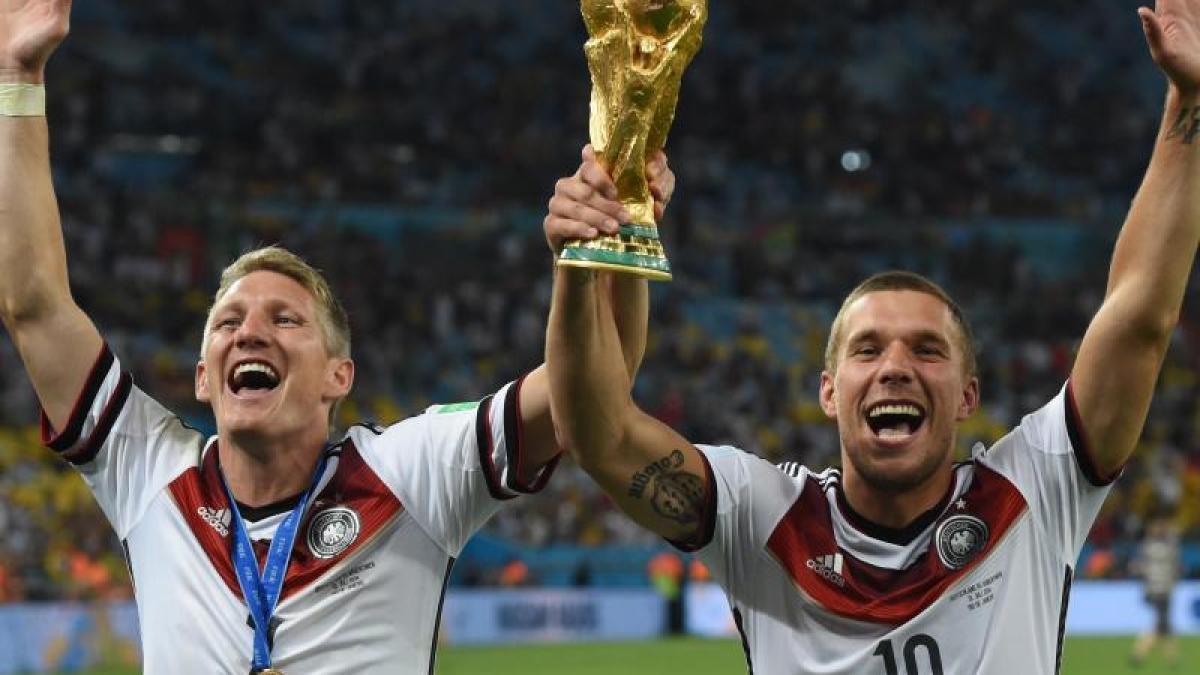 Abschiedsspiel Podolski