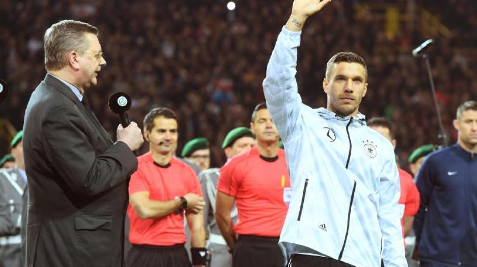 Abschied Mit Traumtor Podolski Sagt Danke Für 13 Geile Jahre