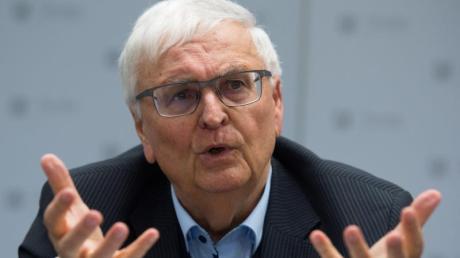 Theo Zwanziger war von 2004 bis 2012 Präsident des Deutschen Fußball-Bundes. Foto: Sebastian Kahnert