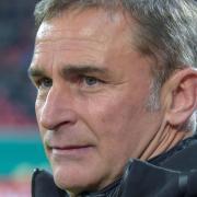 Trainer Stefan Kuntz: «Italien wird ein richtiger Gradmesser.» Foto: Silas Stein