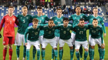 Die deutsche U-21-Nationalmannschaft trifft in der EM-Quali auf Belgien, Wales, Bosnien-Herzegowina und Moldau. Foto: Cèzaro De Luca