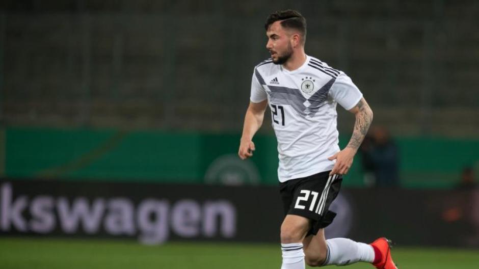 Steht nach seinen zwei Toren im EM-Spiel der deutschen U21 gegen Dänemark im Fokus: Marco Richter. Foto:Bernd Thissen